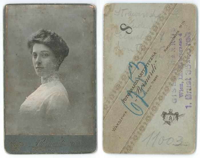 Ludwika z Kazimierskich Strawinska (1882-1961)