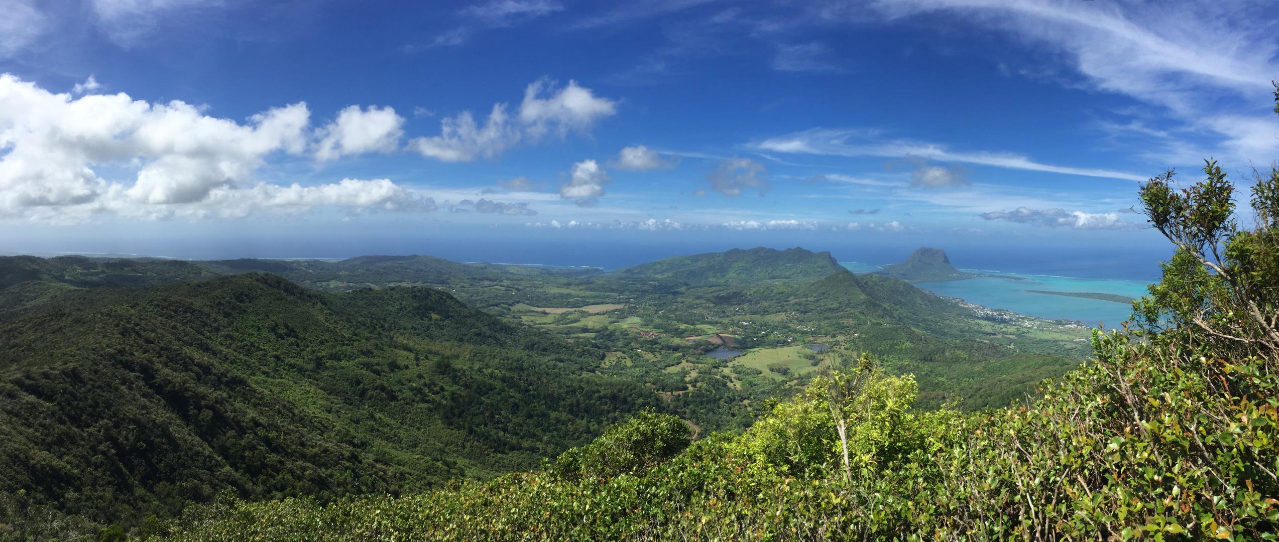 The view from Piton de la Petite Rivière Noire